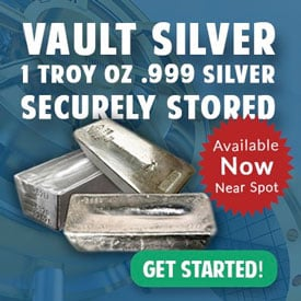 Vault silver 1 Troy Oz .999 Silver Secretly Stored | Get Started!